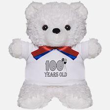 100th Birthday GRY Teddy Bear