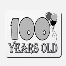100th Birthday GRY Mousepad