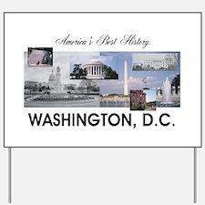 Washington Americasbesthistory.com Yard Sign