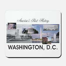 Washington Americasbesthistory.com Mousepad