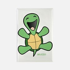 Skuzzo Happy Turtle Rectangle Magnet (10 pack)