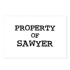 Property of Sawyer Postcards (Package of 8)