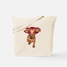 Super Dog Doxies Tote Bag