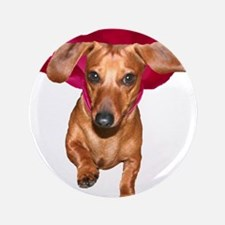 """Super Dog Doxies 3.5"""" Button"""