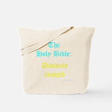 Funny Skepticism Tote Bag