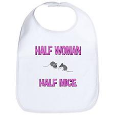 Half Woman Half Mice Bib