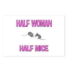 Half Woman Half Mice Postcards (Package of 8)