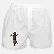 BT Lederhosen Doxie Boxer Shorts