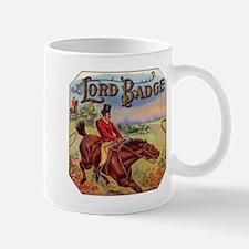 Lord Badge Label Mug