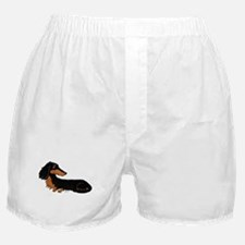 Black Tan Dachshund Boxer Shorts