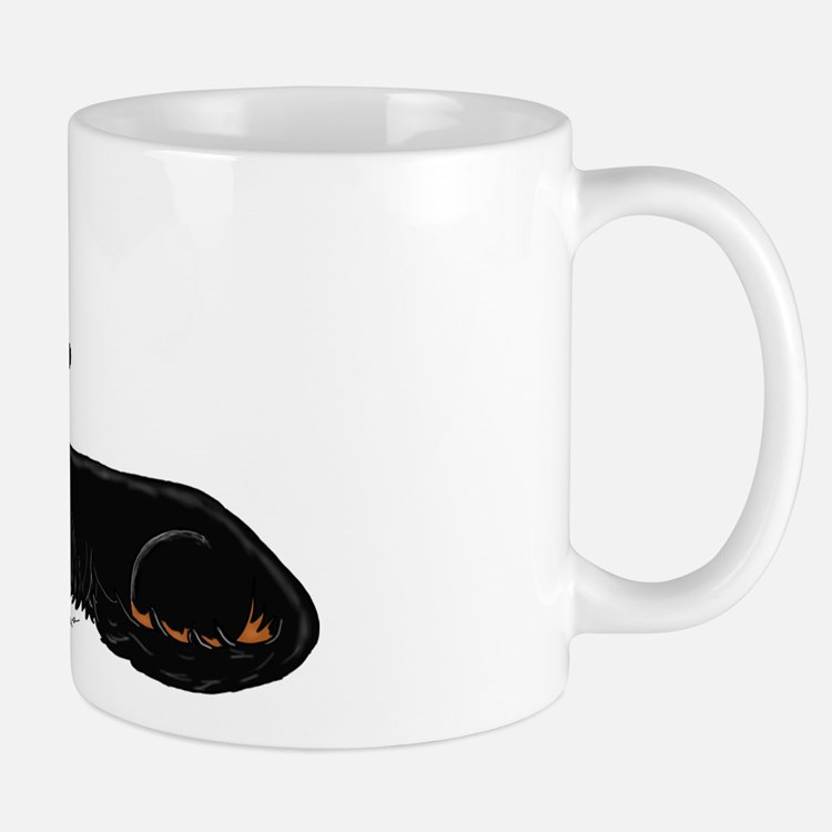 Black Tan Dachshund Mug