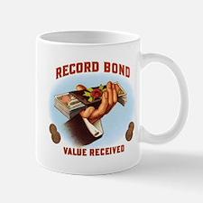 Record Bond Label Mug