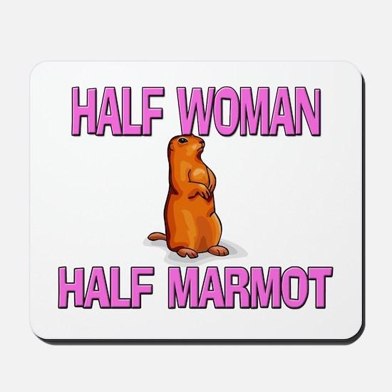 Half Woman Half Marmot Mousepad