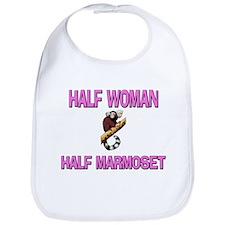 Half Woman Half Marmoset Bib