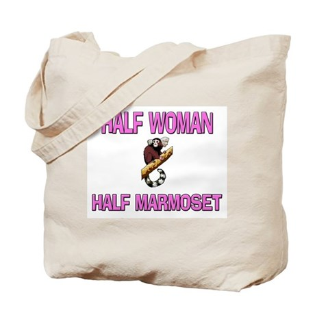 Half Woman Half Marmoset Tote Bag