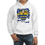 Basset Family Crest Hooded Sweatshirt