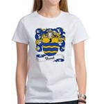 Basset Family Crest Women's T-Shirt