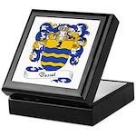 Basset Family Crest Keepsake Box