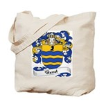 Basset Family Crest Tote Bag