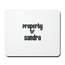 Property of Sandra Mousepad