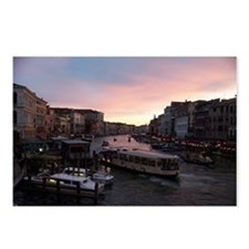 Sunset on the Grand Canal Postcards (Package of 8)