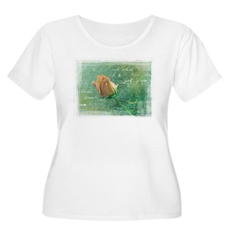 The Rose Women's Plus Size Scoop Neck T-Shirt