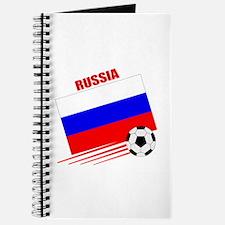 Russia Soccer Team Journal