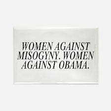 Women against Obama (rectangular magnet)