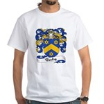 Baudry Family Crest White T-Shirt