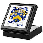 Baudry Family Crest Keepsake Box