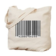 Bar Code Tote Bag