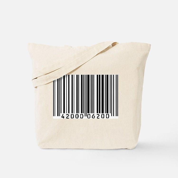 Bar Code Tote Bag
