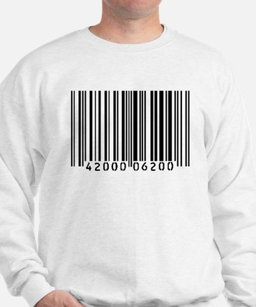 Bar Code Sweatshirt