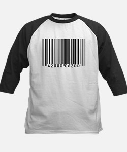 Bar Code Kids Baseball Jersey