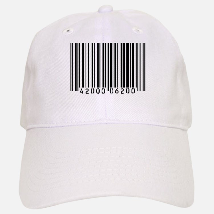 Bar Code Baseball Baseball Cap
