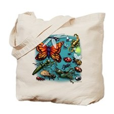 Cute Bug collecting Tote Bag