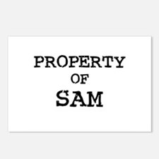 Property of Sam Postcards (Package of 8)