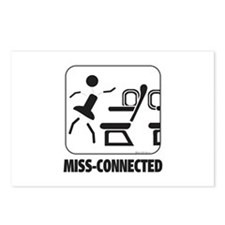 *NEW DESIGN* MISS-Connected Postcards (Package of
