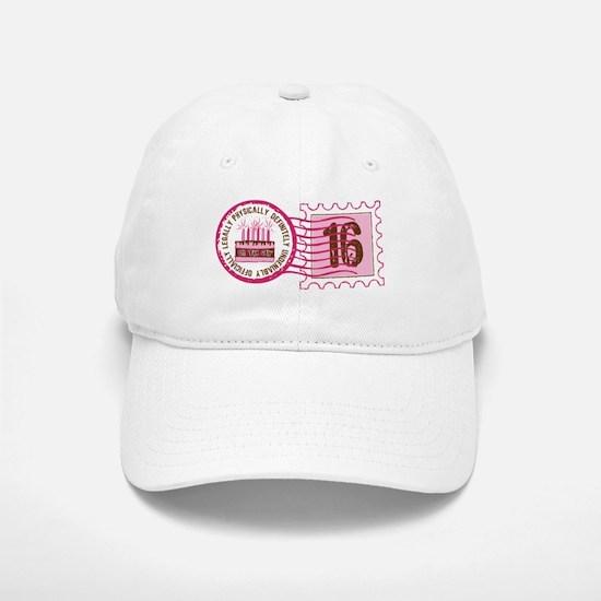 Sweet 16 Stamp Cap