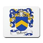 Bellanger Family Crest Mousepad