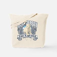Polar Bear New Jersey Tote Bag