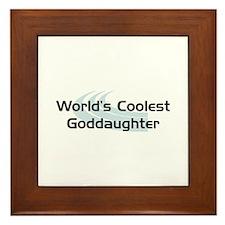 WC Goddaughter Framed Tile