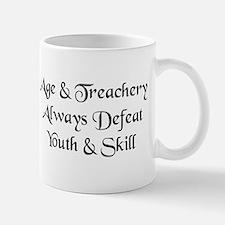 Age & Treachery Small Mugs