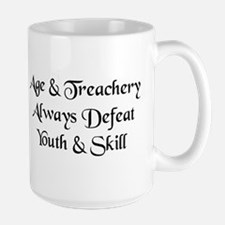 Age & Treachery Large Mug