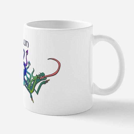 Shaun's Celtic Dragons Name Mug
