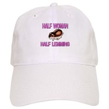 Half Woman Half Lemming Baseball Cap