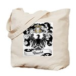 Benoist Family Crest Tote Bag