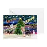 XmasMagic / Silky Ter Greeting Card