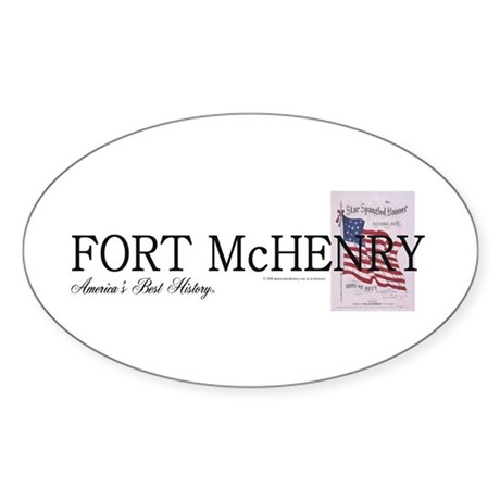 ABH Fort McHenry Sticker (Oval)