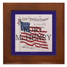 ABH Fort McHenry Framed Tile